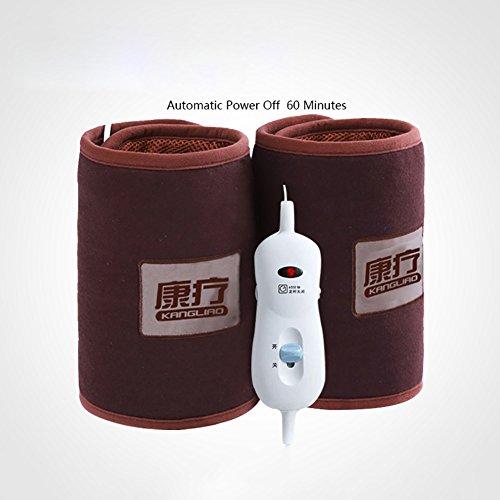 Chapeau électrique Kneecap Kneepad Hot Pack Joint Wormwood Sel brut Santé physique Moxibustion domestique ( Couleur : Coffee time switch )