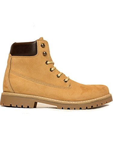 Will's Vegan Shoes Men's dock boots tan-UK 13/EU 47/US 14