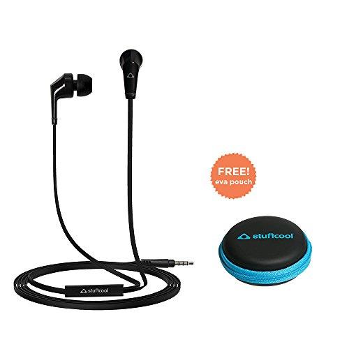 Stuffcool VIV Wired Earphones (Black)