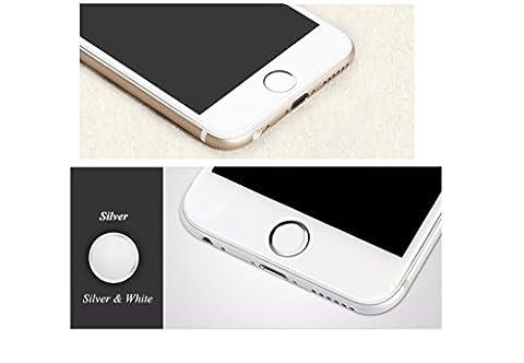 Touch ID Accueil bouton autocollant pour iPhone 6 s/6, 6 s/6 Plus, SE/5 s avec fonction d'Identification des empreintes