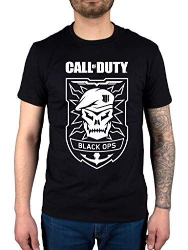Official Call of Duty Black Ops 4 Skull T-Shirt