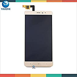 *0RIGINAL* LCD Display SCREEN REPLACEMENT with Touch Screen Digitizer For Xiaomi Redmi Note 3 - GOLD (With Frame)