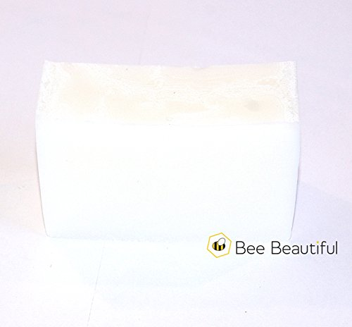 Bee Beautiful faite à la main Barre de douche – noix de coco (1 x 100 g Bar)
