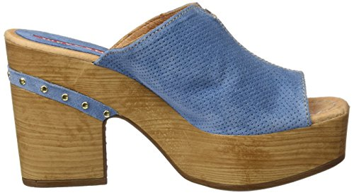 Pedro Miralles Weekend 17507, Zoccoli Donna Blu (Cielo)