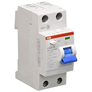 ABB Residual-Current Circuit Breaker 25 °F202 A/0.03