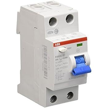 Hager CDS225D FI-Schalter 25A 30mA 2pol. QuickConnect: Amazon.de ...