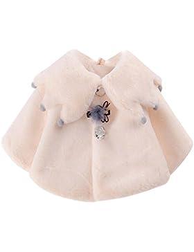 Baby Mädchen Warm Winter Cape Cloak Mantel Outwear Kinderjacken