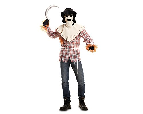 Imagen de my other me  disfraz de espantapájaros tenebroso, para adultos, talla m l viving costumes mom00277