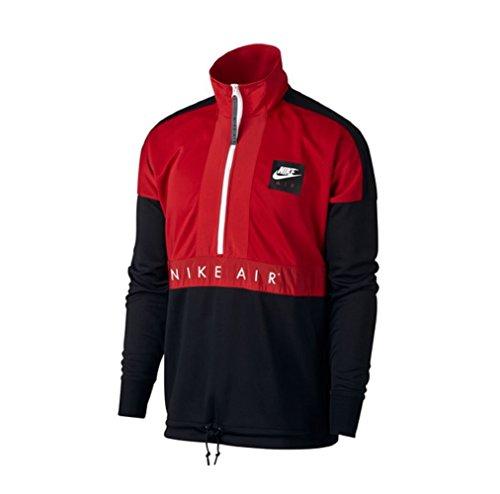 Nike Half Zip Trackjacket Jacke Red/White