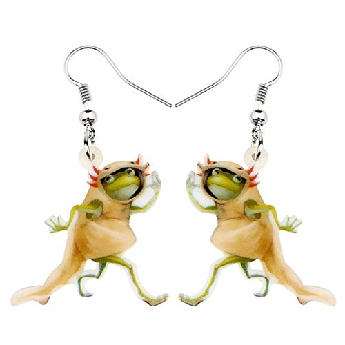 Tier Teen Kostüm - ZHWM Ohrringe Ohrstecker Ohrhänger Anweisung Acryl Running Animal Ohrringe Drop Dangle Kostüm Tier Schmuck Für Frauen Mädchen Teens Geschenk Charms