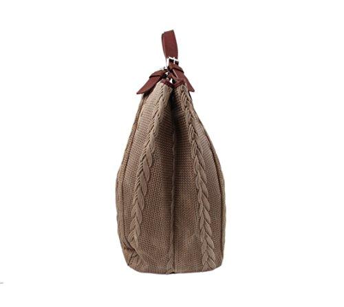 Slingbag Düsseldorf, Borsa tote donna Grigio grigio Für den Alltäglichen Gebrauch gut geeignet. Die Produktmaße entnehmen sie bitte aus den Produktdetails., beige (Grigio) - 4251042504742 beige