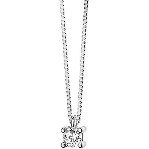 collana donna gioielli Comete Punto luce classico cod. GLB 984