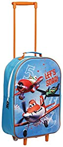 Disney Character Planes 3d Kids Trolley School Cabin Wheeled Luggage Travel Bag Dpl-8122