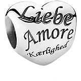 Pandora - 791111 - Drops Femme - Argent 925/1000 - Coeur - Amour - Love