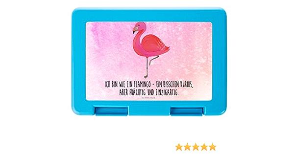 Brotdose Flamingo Classic /& Mrs Farbe Aquarell Pink Mr Vesperdose Panda Proviantdose