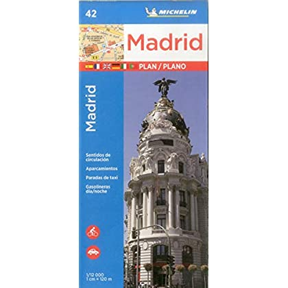 Plan Madrid Michelin