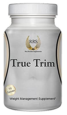 True Trim - Rapid Fat Burner by Real Results Supplements - 110 Capsules | Purest & Highest Quality Ingredients | Fastest Results | Strongest Slimming Pill by Real Results Supplements