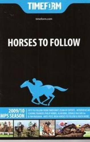 Timeform Horses to Follow 2009/10 Jumps por Timeform Editorial Team
