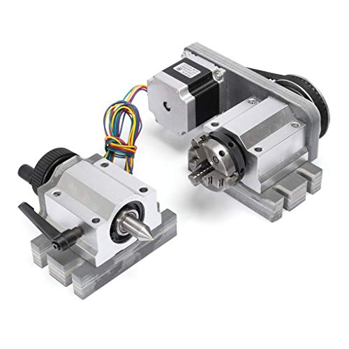 Yongse CNC-Fräser Rotationsachse CNC-Maschinenzubehör Reitstock für 4. Achse
