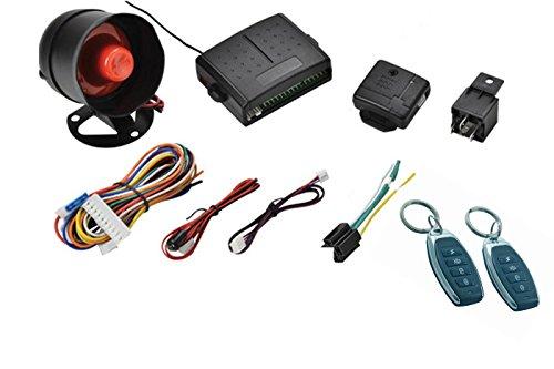 Kit car alarm system allarme antifurto completo universale per auto camper