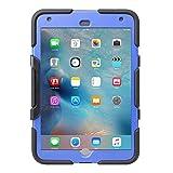 Griffin Survivor All-Terrain, Custodia per iPad mini 4, Nero/Blu