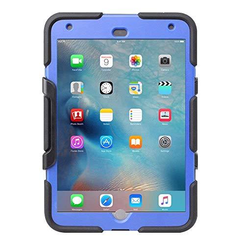 Griffin Survivor All Terrain Schutzhülle Case mit Integriertem Ständer für Apple iPad mini 4 - Schwarz/Blau