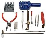 Werkzeugsatz NEU 16 Stück Uhr-Reparatur PIN ENTFERNER u. Rückseite