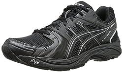 ASICS Womens Gel-Tech Neo 4 Walking Shoe Black/Black/Silver 6 B(M) US