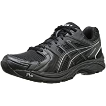 Zapatillas para caminar Gel Tech Neo 4, Negro / Negro / Plateado, 6.5 M US