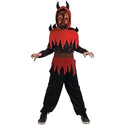 Generique - Disfraz de Demonio del Fuego Niño 7-9 años (122/134)