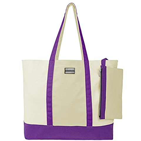 VanGoddy Isling Series Large Shoulder Shopper Tote Bag with Removable
