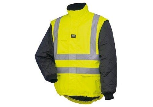 Helly Hansen Jacke POTSDAM LINING 73374 Warnschutzjacke gefüttert 169 XL Xl Workwear-snap
