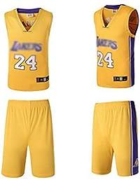 1eb401f83d AGHQL Camiseta de Baloncesto Lakers Kobe 24 Número Bryant Fans de la NBA  para niños Adultos