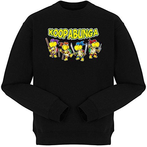 Sudadera Videojuego - Parodia de Super Mario Bros y Tortugas Ninja (83