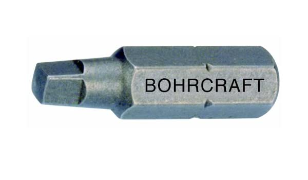 1 St/ück 15,0 mm//MK 2 in QuadroPack 14500301500 Bohrcraft Spiralbohrer DIN 345 HSS Typ N