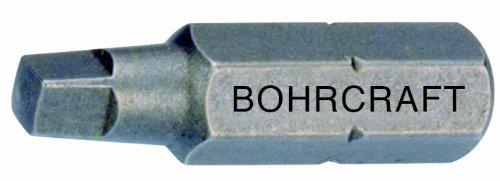 Bohrcraft Schrauber-Bits 1/4 Zoll für Robertson Vierkant Schrauben, Größe 2 x 50 mm...