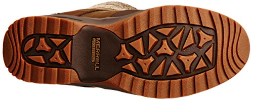 Merrell Eventyr Cuff Wtpf, Damen Schneestiefel Dark Earth