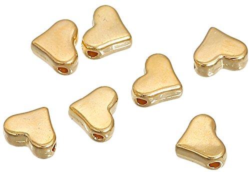 100 unid. bastelperlen-Ø 6 mm Sadingo acrílico perlas Matt plástico perlas
