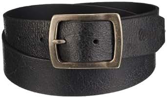 Wrangler Men's Basic Vintage Belt, Black, XXXX-Large