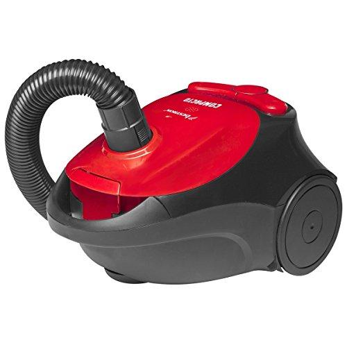Bestron ABG100RB Staubsauger Compacto EEK E, rot / schwarz