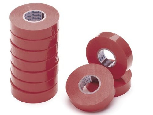 Nitto 1045RPC Isolierband 19mm x 20m x, rot