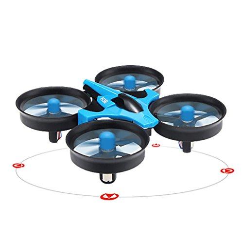 Jaminy JJRC H36 6-Achsen Kreisel-Headless-Modus Mini RC Quadcopter RTF 2.4 GHz stärkere Anti-Interferenz-Leistung und leistungsstarke Signal (Blau)