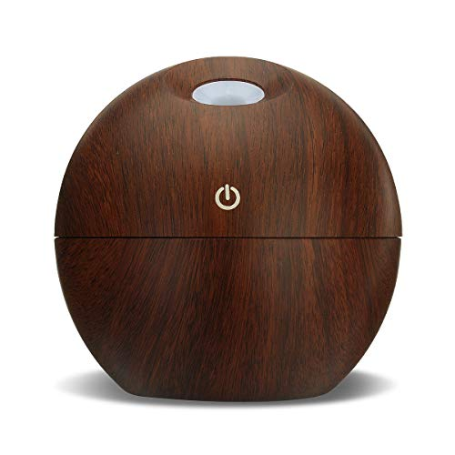 matherapie Essential Oil Diffuser Ultraschall-Cold Mist Humidifier Air Purifier Led Office Home Night Light - Tief ()