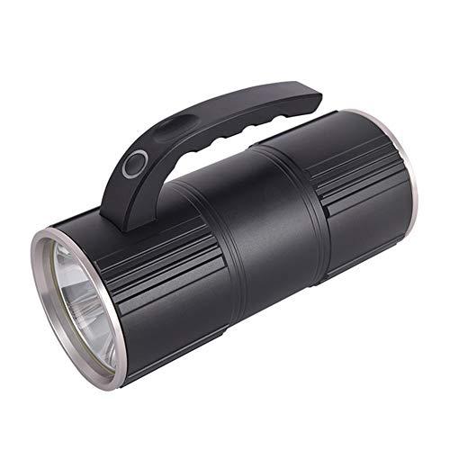 18000Ma Grande Faro Di Caccia All'aperto LED Batteria Di Capacità Super-Bagliore Luminoso Torcia Portatile Multifunzione USB Ricaricabile