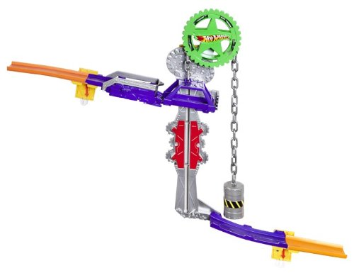 Hot Wheels Wall Tracks Power Pulley Track Set by Hot Wheels