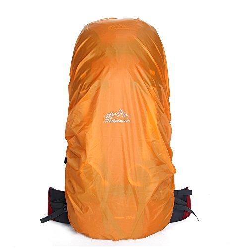 Housse de pluie Sac à dos Sac à dos imperméable Imperméable à la poussière Sac pour camping randonnée 50–60 l