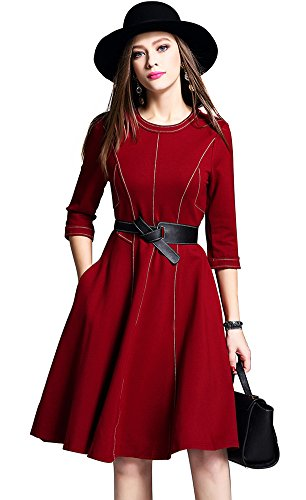 weiweimei-womens-autumn-winter-dress-draping-cutting-patchwork-roman-cotton-sheath-bottom-dress-m-cl
