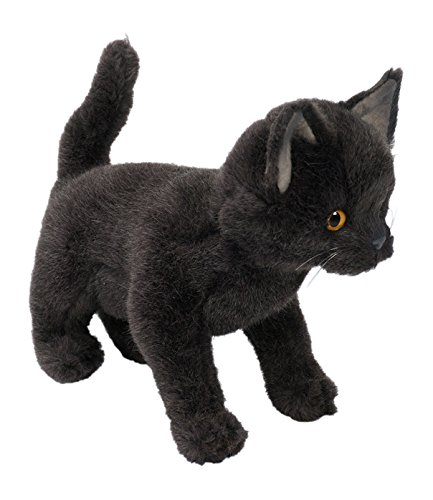 Piutrè 2323.0 - Plüsch Stehend Certosino Katze, 30 cm (Katze Spielzeug Cricket)