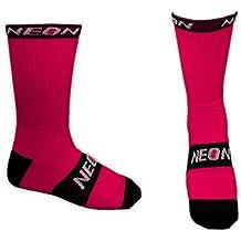 Neon - Calcetines Altos de Deporte - Rose Fushia - 40-44
