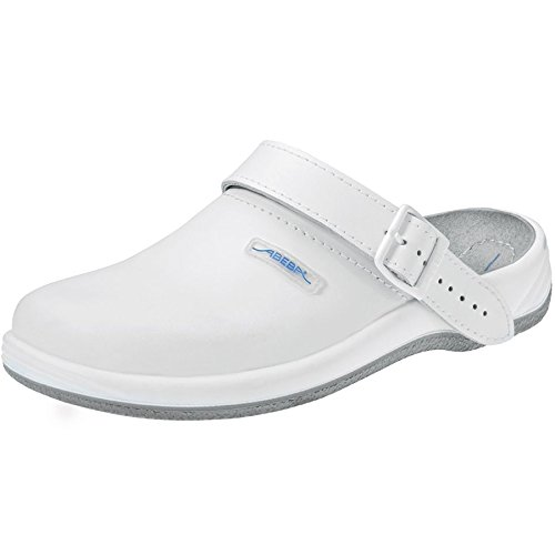 Abeba 8202-48 Arrow Chaussures sabot Taille 48 Blanc